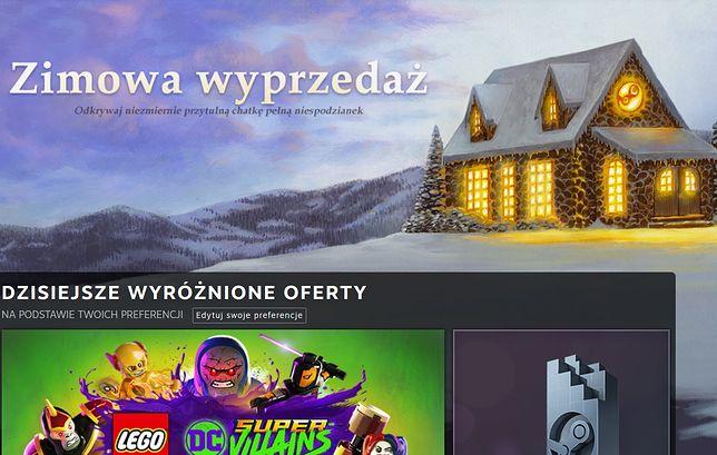 Zimowa wyprzedaż na Steam wystartowała