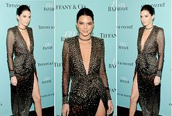 LOOK OF THE DAY: Kendall Jenner jak gwiazda Old Hollywood
