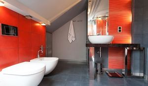 Pomysł na łazienkę w kolorze