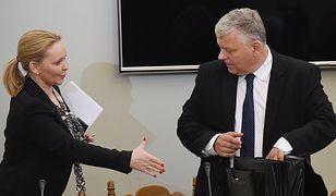 Marek Suski podczas posiedzenia komisji ds. Amber Gold