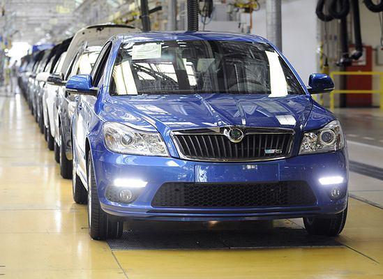 Skoda wstrzymuje produkcję samochodów