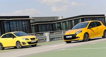 Renault Clio RS vs Seat Ibiza Cupra