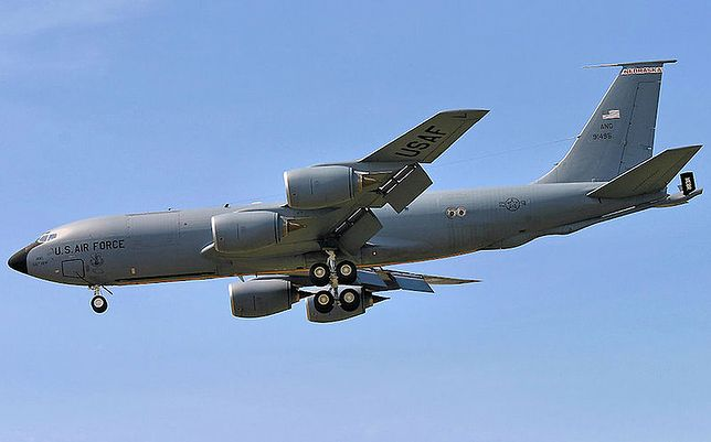 Boeing KC-135 Stratotanker z Nebraska Air National Guard