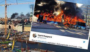 Eksplozja autobusu w Sztokholmie