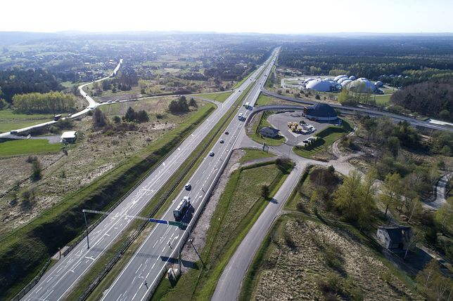 Otwarto rozbudowany węzeł Rudno na autostradzie A4 Katowice - Kraków