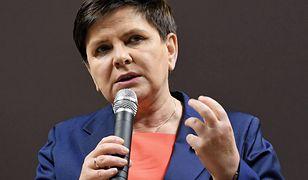 Beata Szydło podczas spotkania z wyborcami. Była premier jest w ostatnim czasie bardzo aktywna