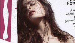 Isabeli Fontana nago na okładce