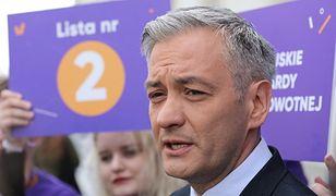 Robert Biedroń skomentował oskarżenia o mobbing w Wiośnie