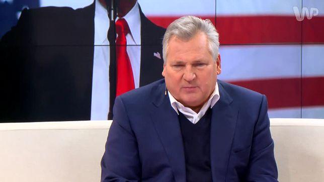 Aleksander Kwaśniewski: rząd nie ma żadnej koncepcji