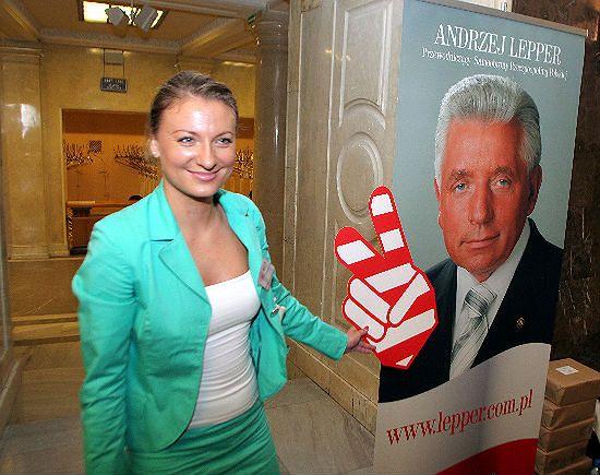 Sandra Lewandowska: jestem za unią państw niezależnych
