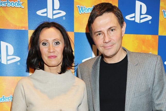 Anna Nowak-Ibisz i Krzysztof Ibisz w 2012 roku