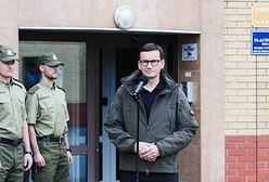 """Kryzys na granicy z Białorusią. Mateusz Morawiecki o """"słowach niegodnych"""""""