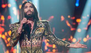 Conchita Wurst, elegancka triumfatorka Eurowizji, potrafi być wyzywająca