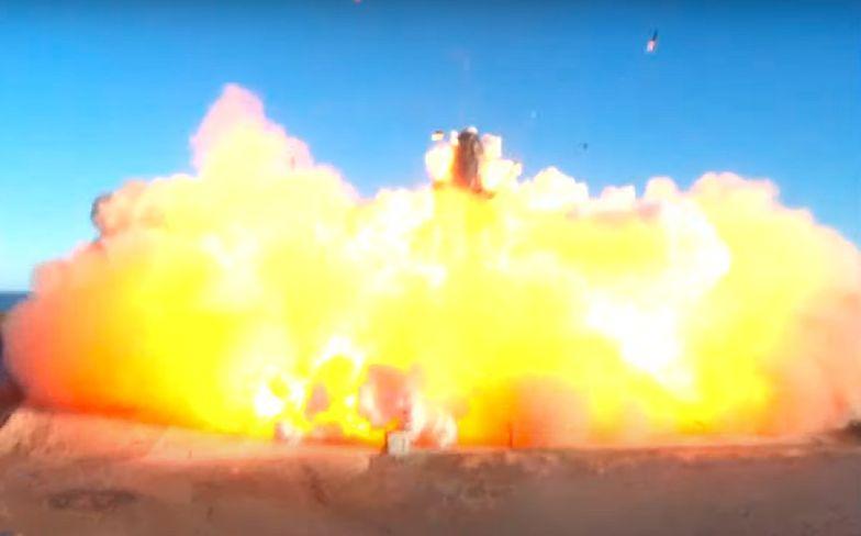 Eksplozja rakiety Starship SpaceX! Elon Musk zachwycony