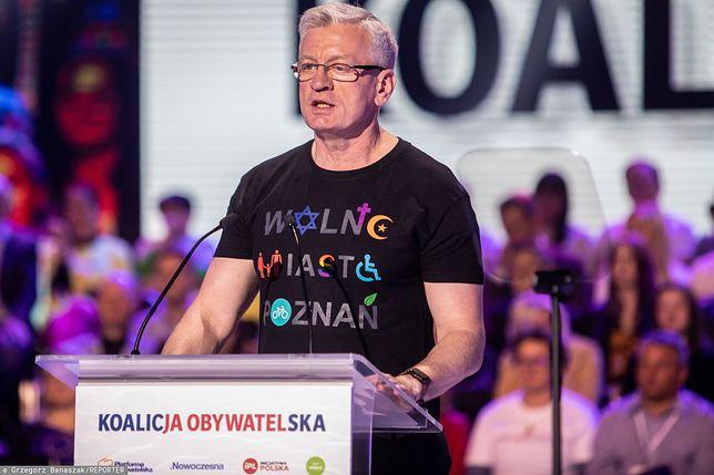 Prawybory w PO. Jacek Jaśkowiak, prezydent Poznania, zgłosił swój start.