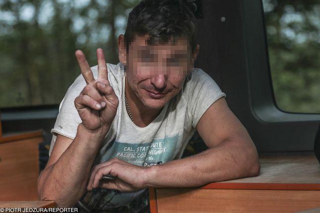 Zielona Góra. Pijany Ukrainiec wypadł z drogi. Śmiał się, gdy zatrzymała go policja