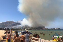 Pożar na Sycylii. Mamy zdjęcia polskich turystów