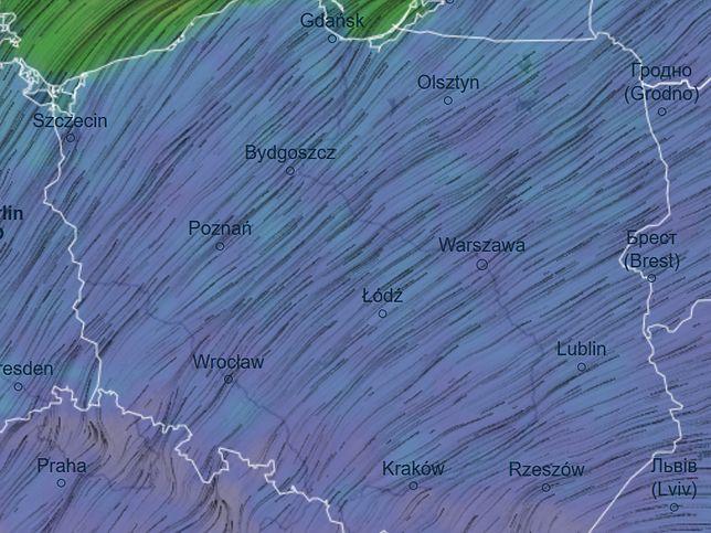 Pogoda. Silny wiatr może być niebezpieczny