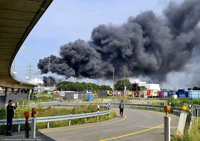 Wybuch w fabryce leków w Niemczech