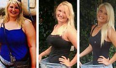 Ważyła 110 kg i zajmowała dwa miejsca w autobusie. Spektakularna metamorfoza