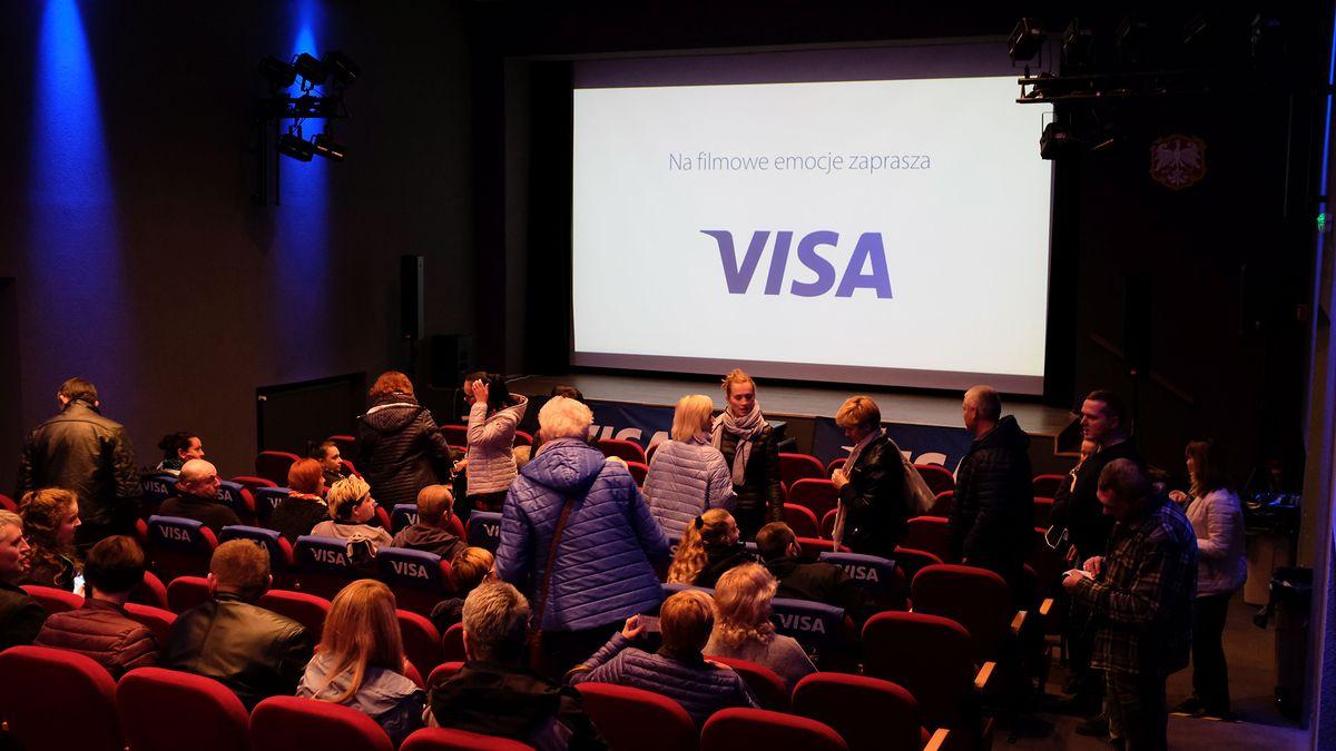 Objazdowe Kino Visa - największe kinowe hity jesieni 50% taniej z kartą Visa