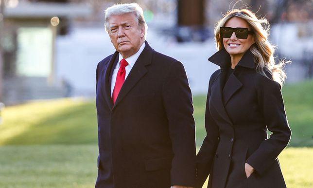 Donald i Melania Trump wkrótce opuszczą Biały Dom.