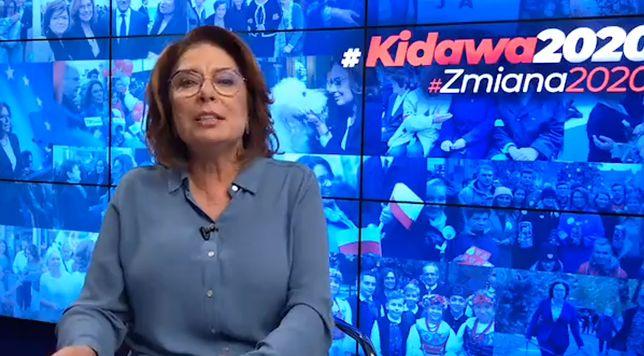 Wybory prezydenckie 2020. Małgorzata Kidawa-Błońska na czacie z internautami