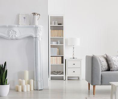 Styl glamour w domu świetnie współgra z minimalistycznymi  elementami wystroju