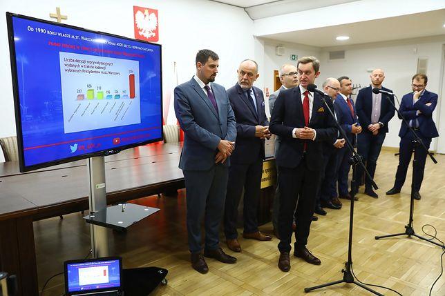 Przewodniczący komisji weryfikacyjnej ds. reprywatyzacji nieruchomości warszawskich Sebastian Kaleta
