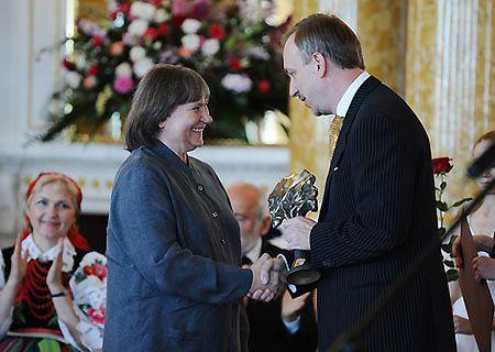 Nagrodzona dyrygentka Agnieszka Duczmal