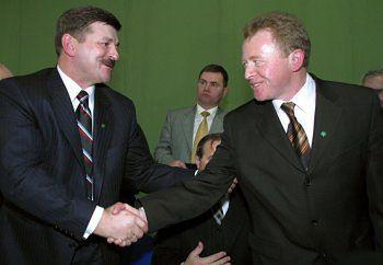 Jarosław Kalinowski i Janusz Wojciechowski