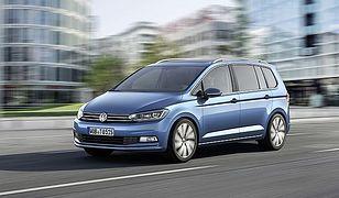 VW Touran z nowymi silnikami i pakietem R-Line