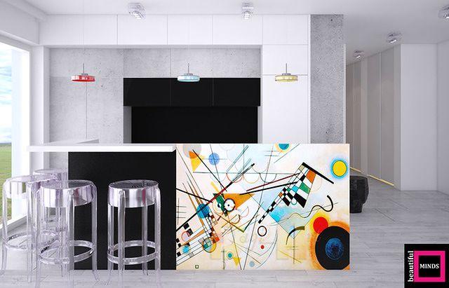Mieszkanie, w którym rządzi sztuka
