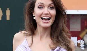 """Jolie na premierze filmu """"Czarownica 2"""""""