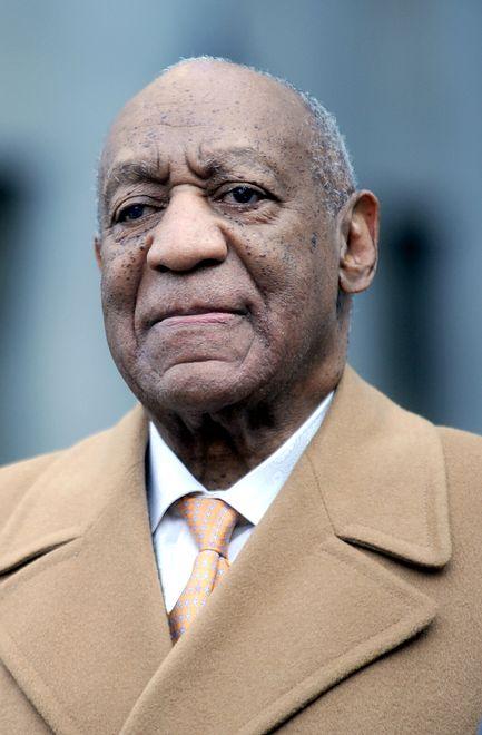 Na gwieździe Billa Cosby'ego pojawił się napis. Chodzi o ostatnie wydarzenia