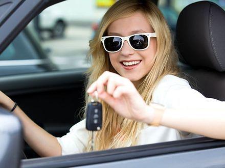 Kobiety wjeżdżają na polskie drogi