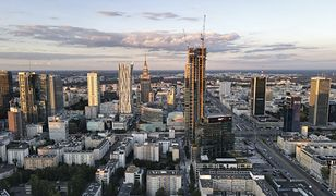 Warszawa. Budowa Varso Tower w lipcu 2020 r.