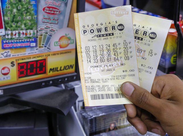 W amerykańskiej loterii Powerball padła potężna wygrana