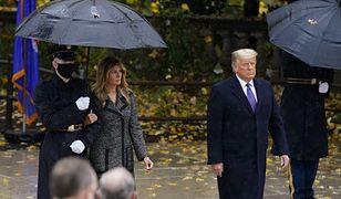 Melania Trump i jej mąż