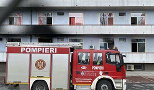 Bukareszt. Pożar w szpitalu covidowym