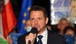Wybory 2020. Rafał Trzaskowski odpowiada na pytanie o zrzut wód burzowych