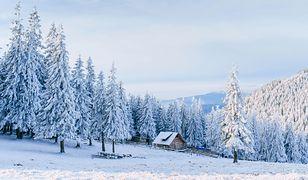 Zima w Karkonoszach – śnieg w najwyższych partiach Sudetów