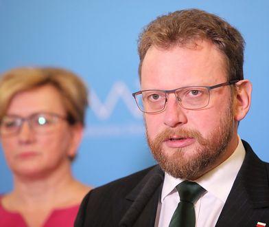 Koronawirus. Minister zdrowia Łukasz Szumowski odwołuje spotkanie.