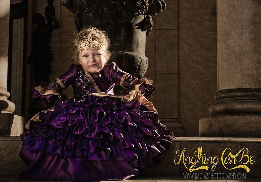 Rae w roli księżniczki