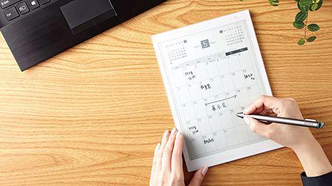 Tablet zastąpi zeszyt i ołówek. Sony prezentuje 10-calowy czytnik E Ink