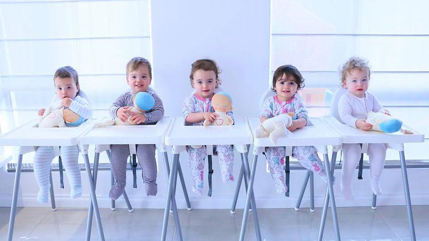 Opieka nad pięcioraczkami to nie lada wyzwanie