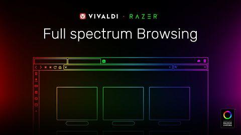Vivaldi 2.5 pierwszą przeglądarką z RGB – wspiera system Razer Chroma