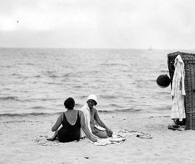 Przed wojną plażowe kosze były szalenie popularne