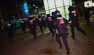 Koronawirus. Demonstracja koronasceptyków w Lipsku. Starcia i aresztowania