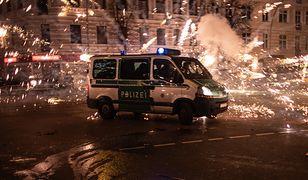 Sylwester w Niemczech. Zamieszki w Lipsku, niebezpiecznie też w Berlinie